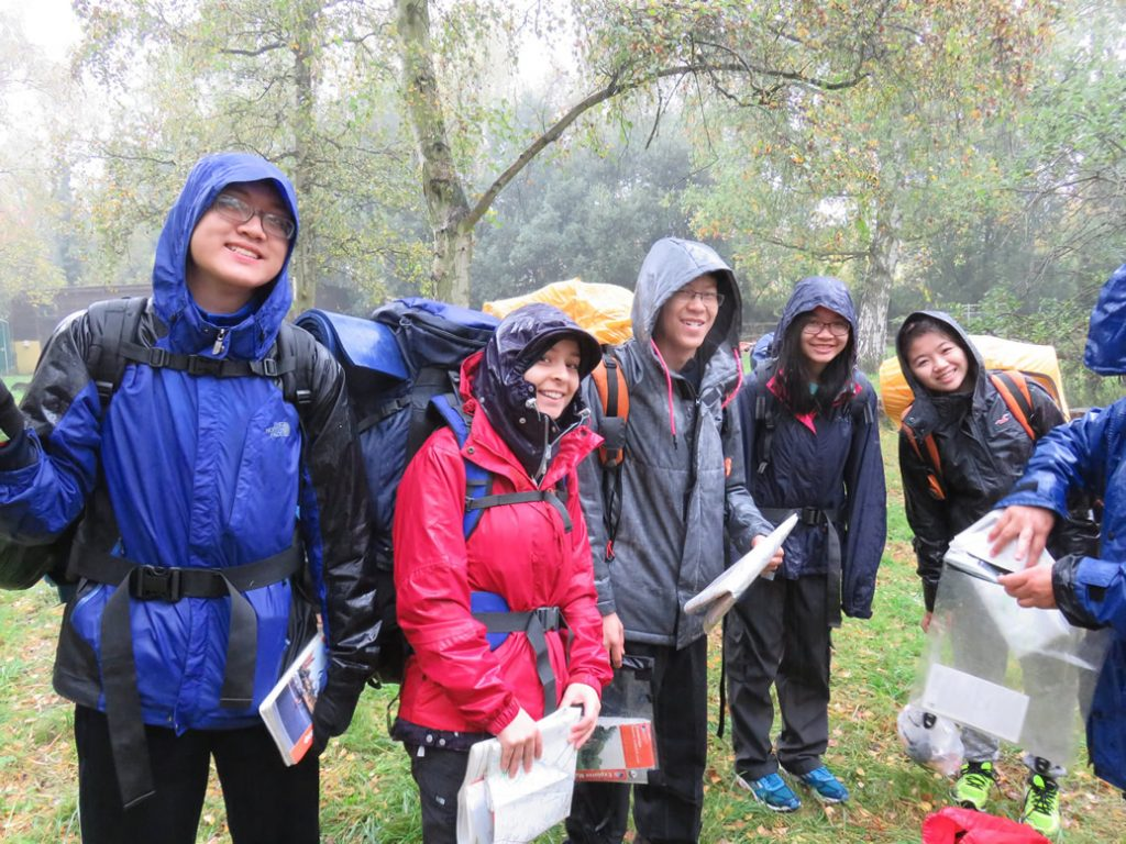 Abbey College Cambridge Students Camping Trip