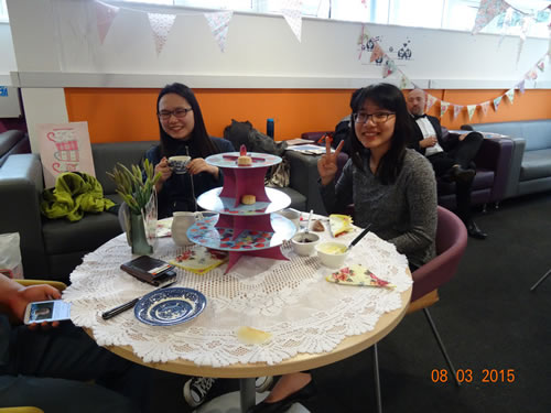 Abbey College Cambridge Speak English Week High Tea
