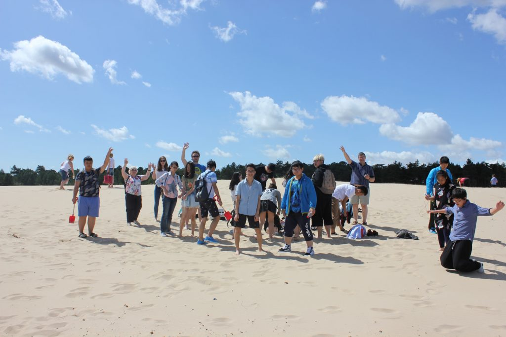 Abbey College Cambridge Summer School Students Visit Norfolk