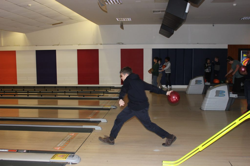 A-Level Abbey College Cambridge Students Bowling