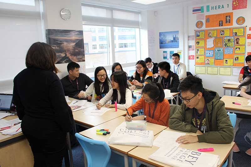 Abbey College Cambridge Cambodian Student Visit