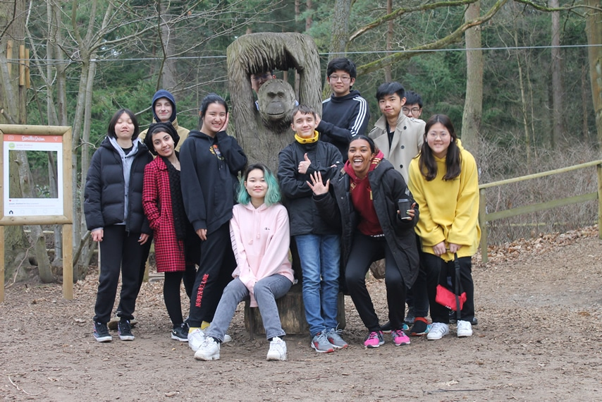 Abbey College Cambridge Pre-Sessional and Year 10 Residential Trip to Letton Hall