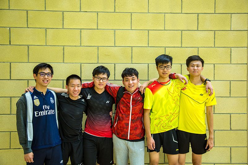 Abbey College Cambridge Badminton Sports Team