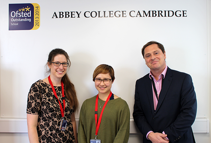 Abbey College Cambridge Student Selina