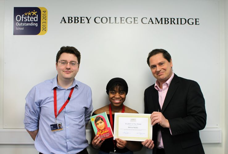 Abbey Cambridge Student of the Week