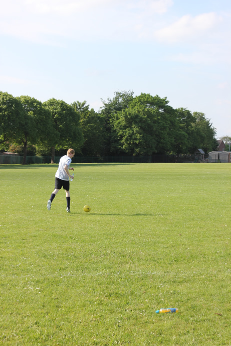 Abbey College Cambridge Staff vs Student Football Match